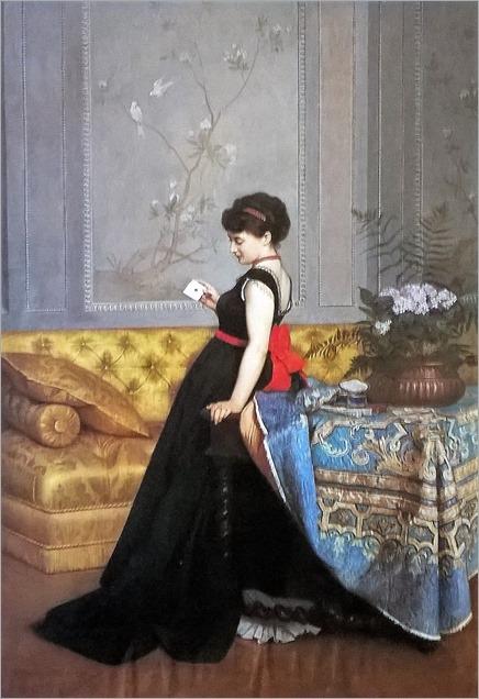 The love letter-Auguste Toulmouche
