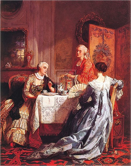 The tea party-Jean Carolus
