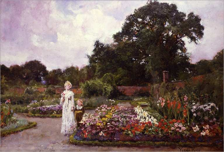 Victorian Garden - Yeend King