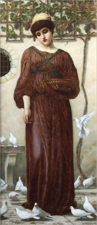 white doves-henry ryland