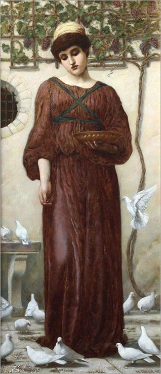 white doves-henry ryland