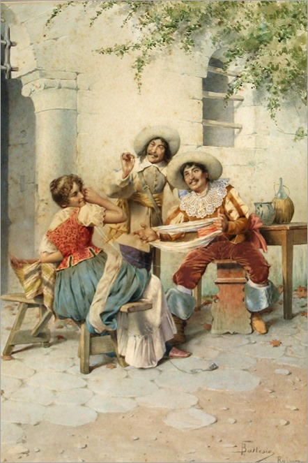 a flirtatious moment-francesco ballesio