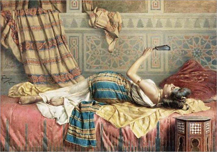 A Reflection of Harem Beauty.Francesco ballesiojpg