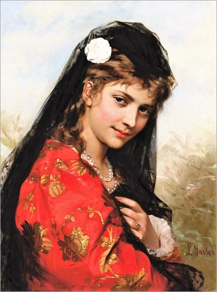 A Spanish Beauty -Leonardo Gasser