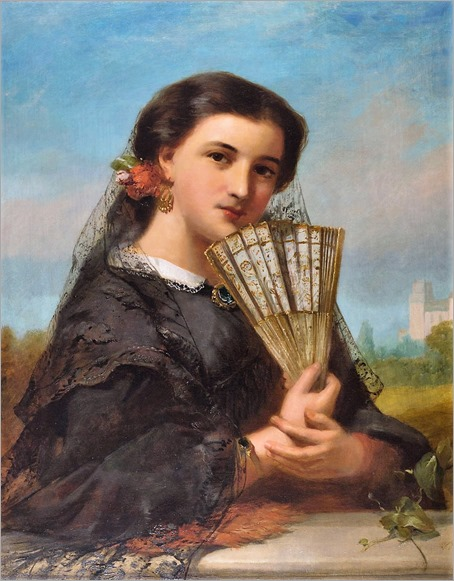 A spanish senorita-John James Hill
