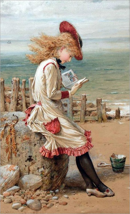 An Interesting Story- William Stephen Coleman (English, 1829-1904)