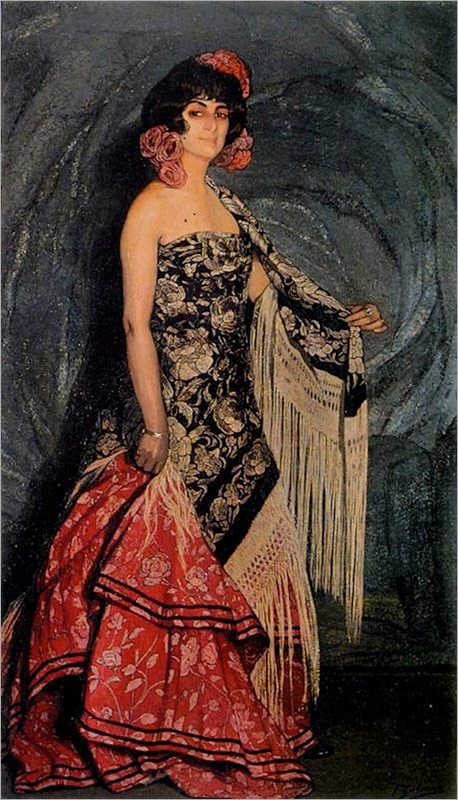 Antonia the Galician - Ignacio Zuloaga (spanish painter)
