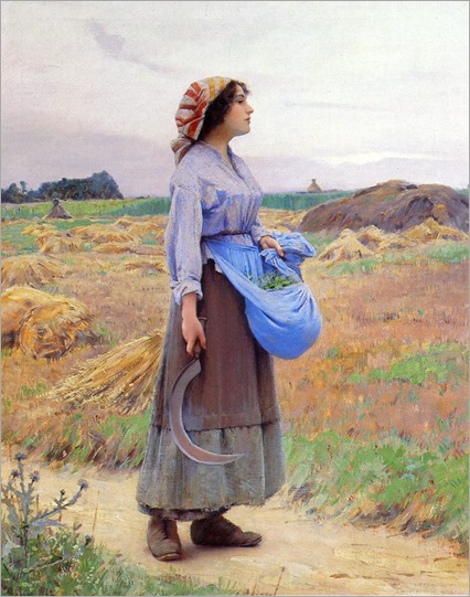 Charles Sprague Pearce - Returning from the Fields