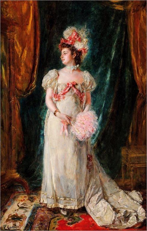 Eduardo Léon Garrido (1856 - 1949) - Coquetterie