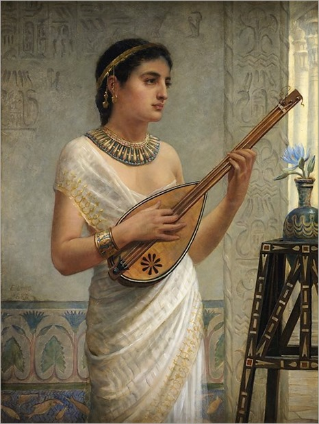 Edwin Long-the mandolin player 1886
