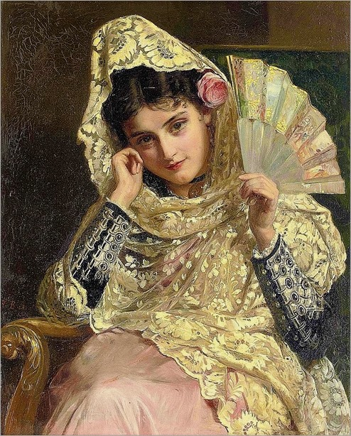Feliciana, a spanish beauty-John Bagnold Burgess