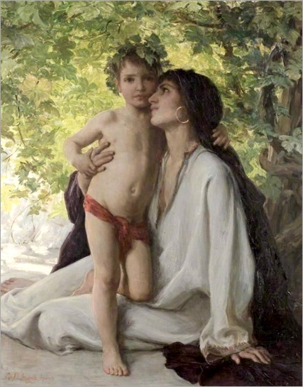 George Percy Jacomb-Hood - Mother And Child