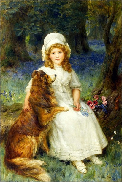 George Sheridan Knowles (British, 1863-1921) - In wonderland