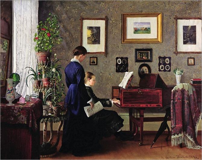 gustav-wentzel-music-lesson-