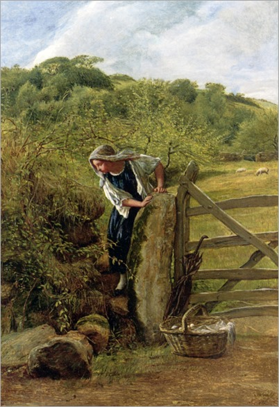 James Clarke Hook (english,1819-1907)- Going to Market