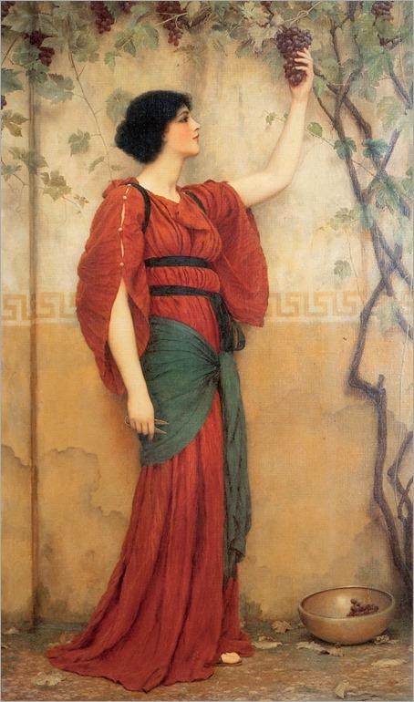 John William Godward - Autumn