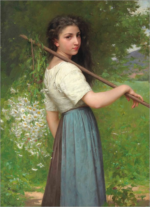 jules-cyrille cave-gathering daisies)