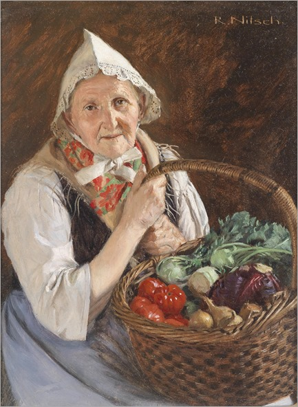 Richard-Nitsch-Farmer's Wife from the Märkisch-Oderland