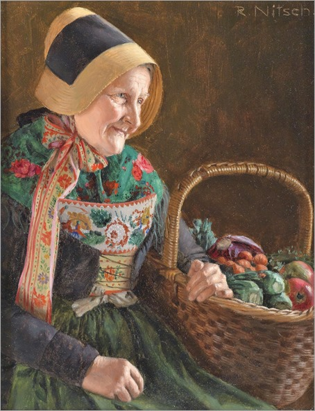 RICHARD_NITSCH-(Theresienfeld 1866-1945; active in Berlin) -Woman from Mönchgut on the island of Rügen