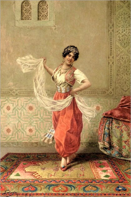 the oriental dancer-francesco ballesio