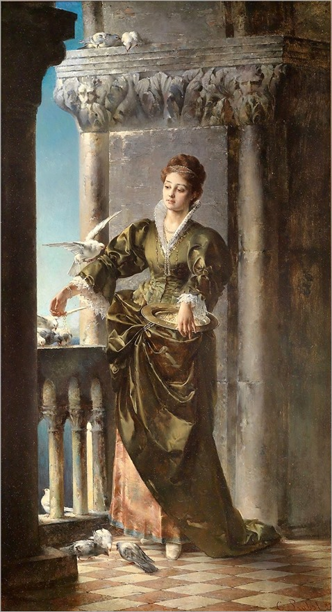 venetian lady-1887-Carl Probst
