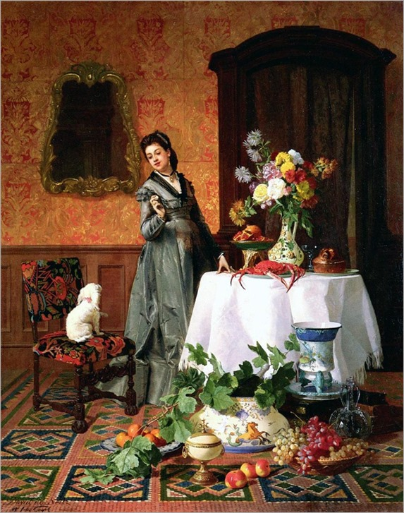 10David Emil Joseph de Noter (belgian, 1825-1875)