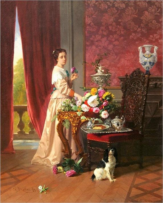 8David Emil Joseph de Noter (belgian, 1825-1875)