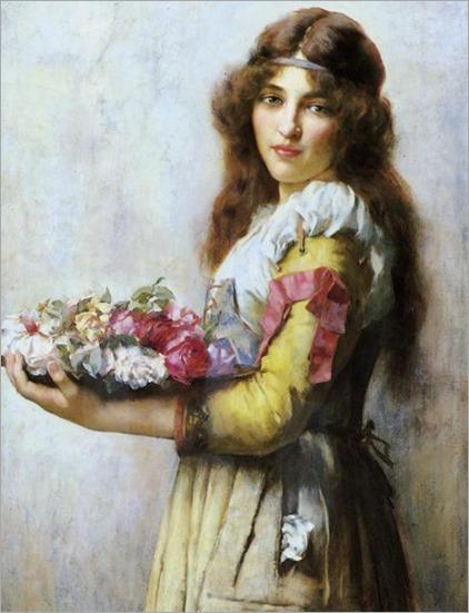 a bouquet of flowers_William Arthur Breakspeare - Date unknown