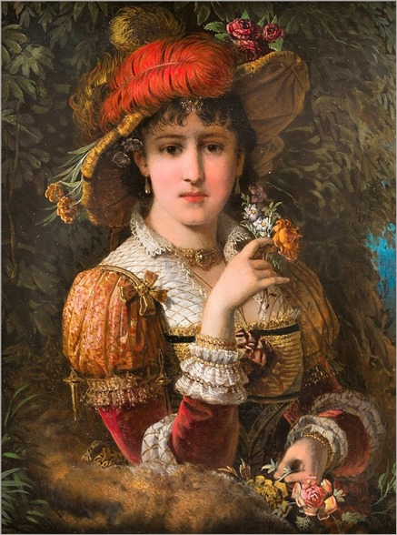 FRANZ RUSS (austrian, 1844-1906)