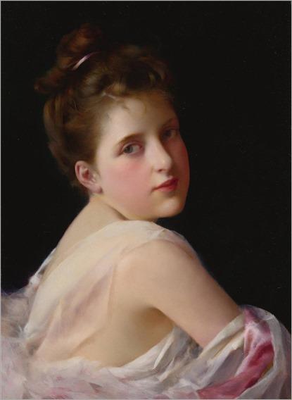 George L. Seymour (1836-1930) Sweet seventeen