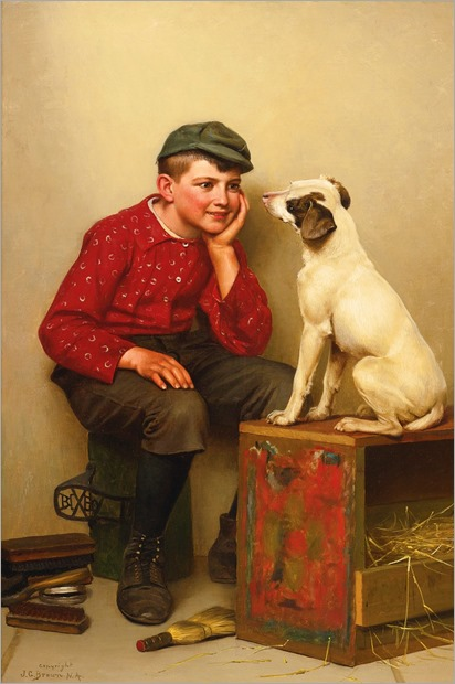 JOHN george brown-best friends