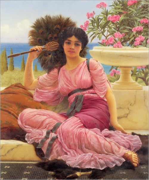 John William Godward-Flabellifera