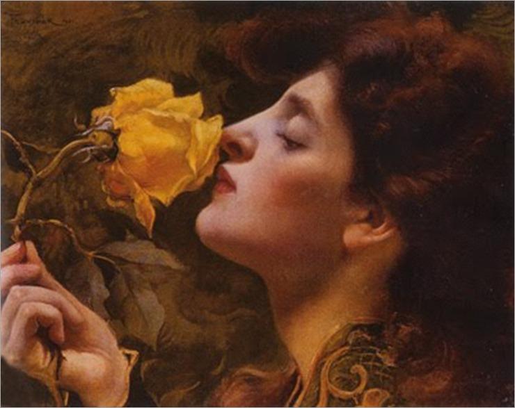 Lady of the Roses, by Franz Dvorak