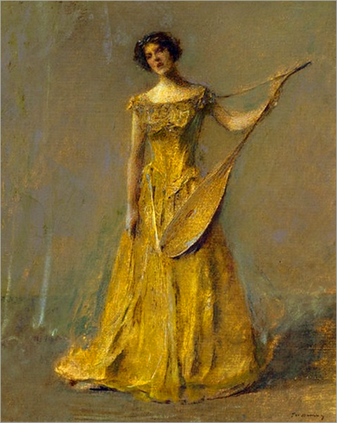 the singer-thomas wilmer dewing
