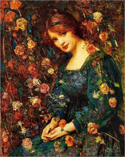 Thomas Edwin Mostyn (1864-1930)_Flora