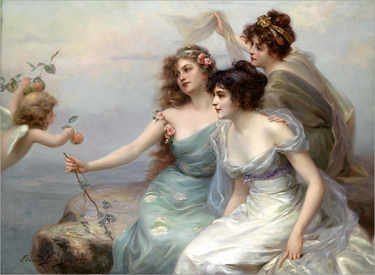 Edouard Bisson (Paris 1856–1939) The Three Graces_800x585