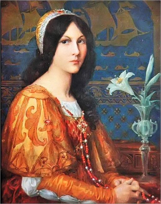 Elisabeth Sonrel ~ (1874-1953) -Jeune Femme Aux Lilas