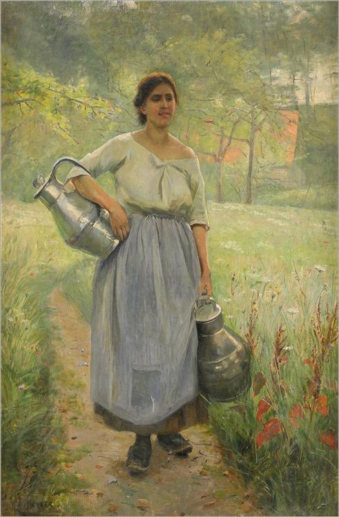 3.ELISABETH KEYSER (SWEDISH, 1851 - 1898