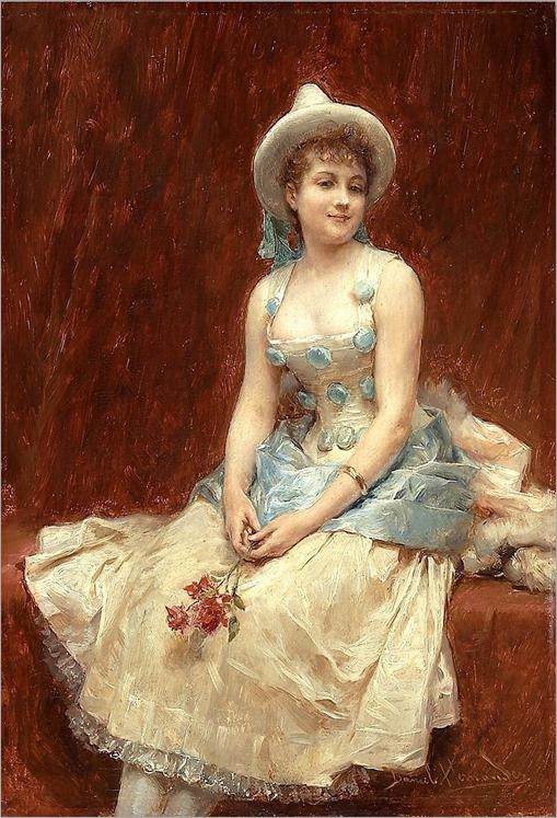 6.Daniel Hernandez (Peruvian 1856-1932), pierrete