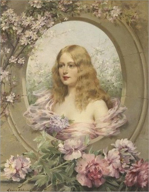 Allegory of Spring - 1902 - by Louise Abbéma (French, 1853-1927)