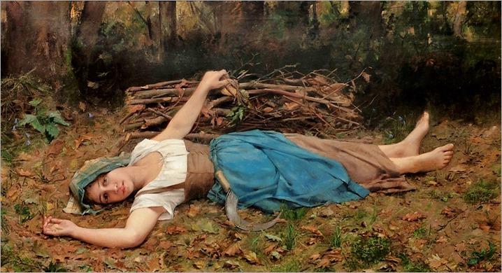 COMERRE-PATON Jacqueline 1886 La chanson des bois by PoissArt