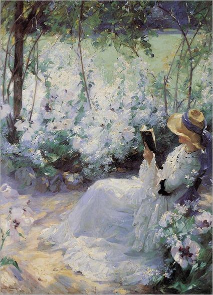Delicious Solitude (1909). Frank Bramley (British, 1857–1915)