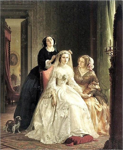 Josephus Laurentius Dyckmans (1811-1888) The Bride