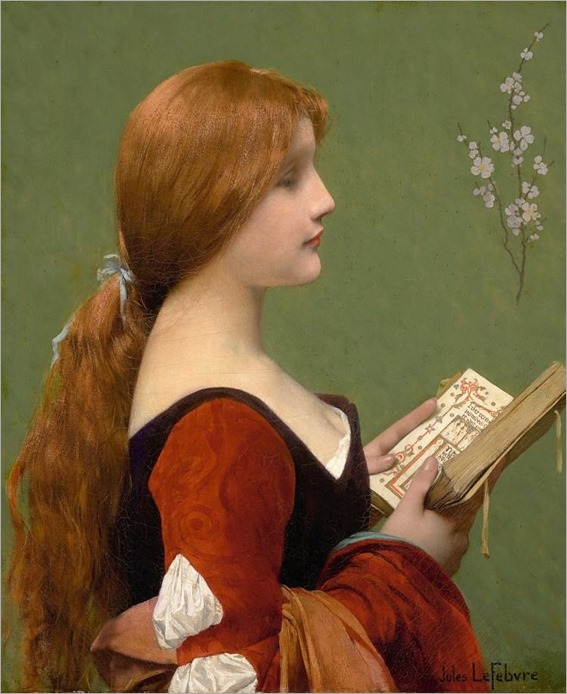 JULES JOSEPH LEFEBVRE - Jeanne la Rousse