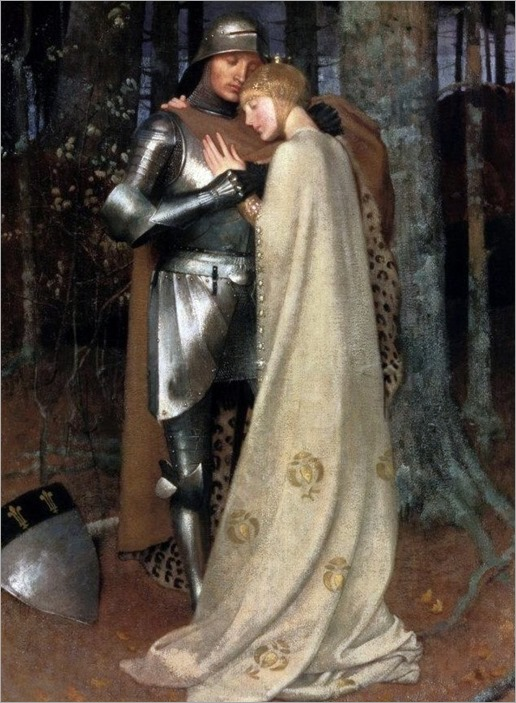 Marianne Stokes (1855-1927) - Aucassin and Nicolette