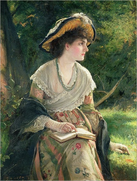 Robert James Gordon-woman reading