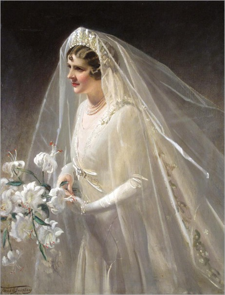 The Bride, Sylvia (1950) by Frank Owen Salisbury (1864-1962)