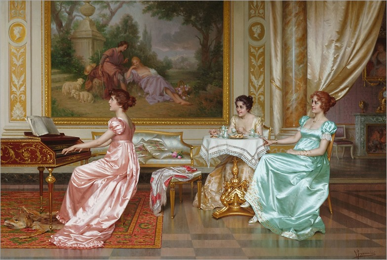 the parlor concert-Vittorio Reggianini (2)