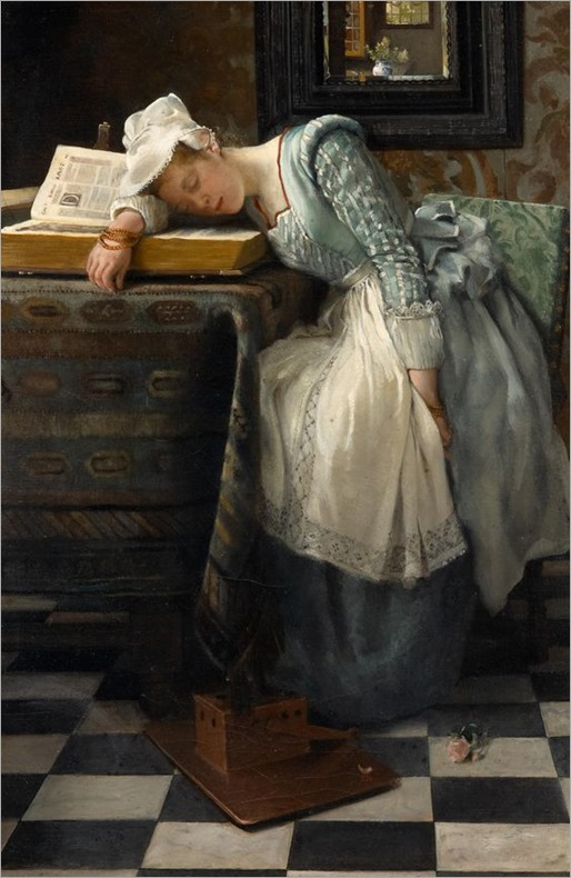 World of Dreams (1876). Lady Laura Theresa Alma-Tadema (English, 1852-1909)