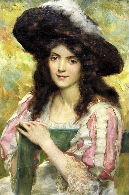 16.George Sheridan Knowles ( British, 1863-1931)